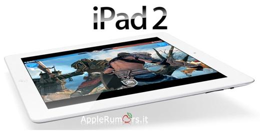 iPad 2 ufficiale in Italia