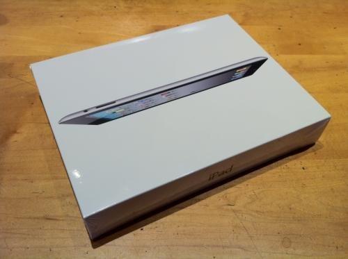 scatola dell'ipad 2