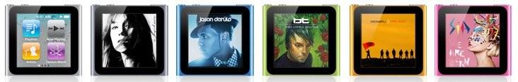 iPod nano 6G su Amazon a prezzi scontati