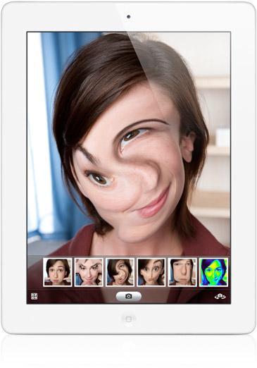 photo booth sull'ipad 2 di apple
