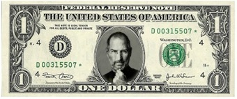 Steve Jobs sul Dollaro
