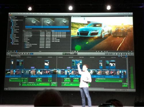 Apple svela Final Cut Pro X al NAB 2011
