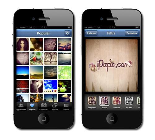 applicazione instagram