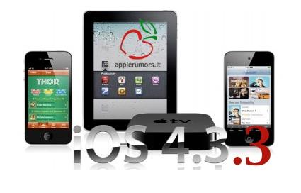 iOS 4.3.3 in arrivo?