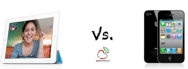 iPad 2 vs iPhone 4: Registrazione video a confronto