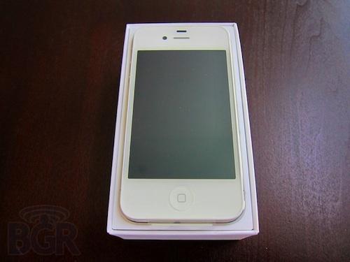 iphone 4 bianco scatola