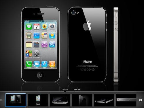 iphone 4 nero galleria