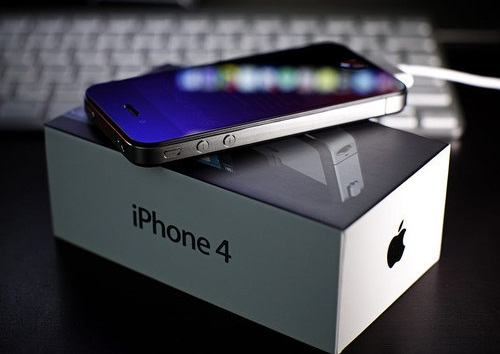 scatola iphone 4
