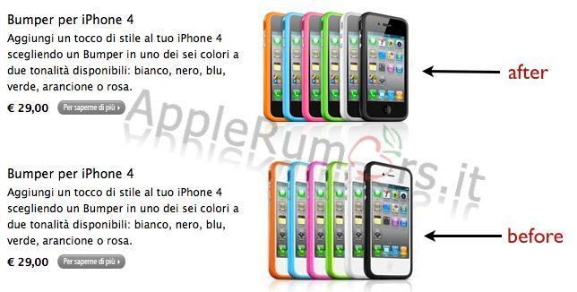 esclusive iPhone 4 Withe