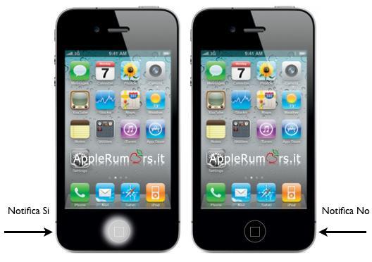 iphone 5 notifiche