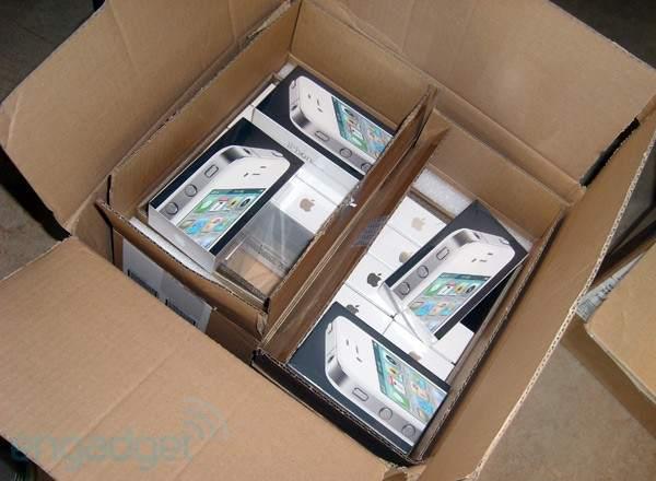 scatolone iphone 4 bianco