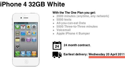 iphone 4 white UK