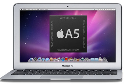 macbook air processore Apple A5