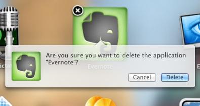 Mac OS Lion, l'eliminazione delle app in stile iOS