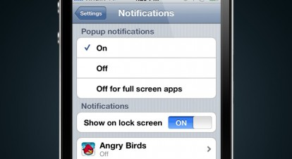 iOS 5 notifiche