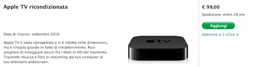 apple tv nei ricondizionati