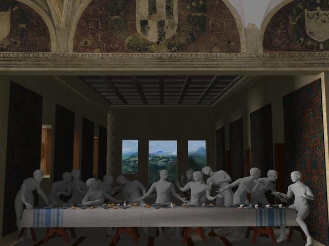 Da Mondadori: Virtual History – Ultima Cena, l'app dedicata al famoso dipinto di Leonardo