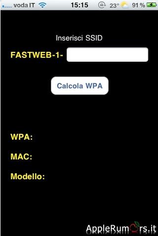 fastweb wpa