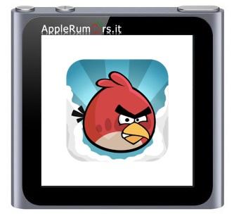 iPod nano 2011 con giochi integrati