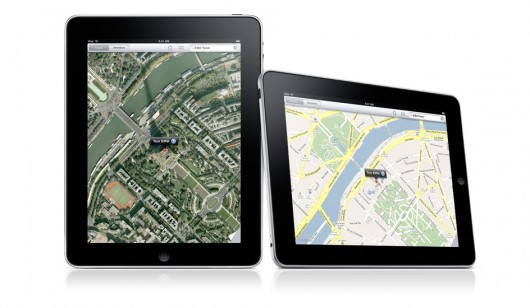 google maps idevice