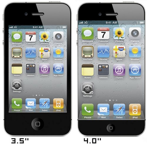 mockup iphone 5 4 pollici