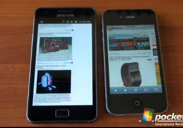 iPhone web test