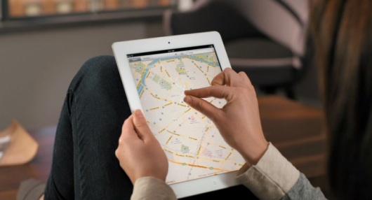 iOS 5 con mappe prodotte da Apple?