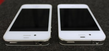 iPhone 4 bianco 2010 vs iPhone 4 bianco 2011
