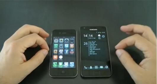iphone4 contro galaxy s2