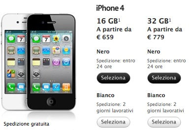 iphone 4 acquisto