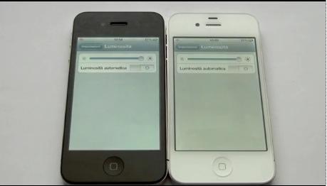 iPhone 4 bianco soffre di un problema allo schermo
