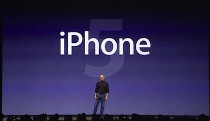 iPhone 5 evento