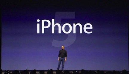 iPhone 5 evento