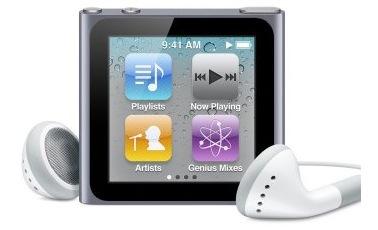 Offerta imperdibile: iPod nano multitouch a 99 € da Amazon