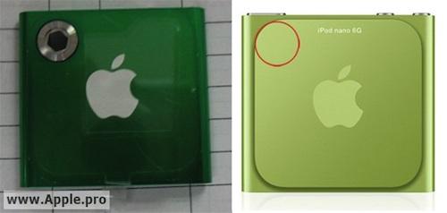 iPod nano 2011 con fotocamera da 1.3 Megapixel?