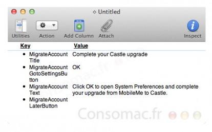 Il nuovo MobileMe si chiamerà Castle?