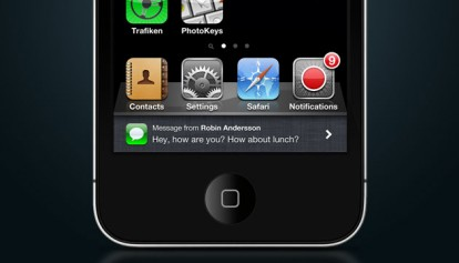 notifiche iOS 5