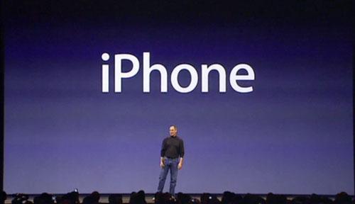 iPhone keynote steve jobs