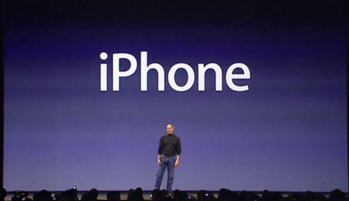 iPhone keynote steve jobs
