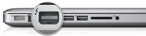 Connessione Thunderbolt su iPhone 5?