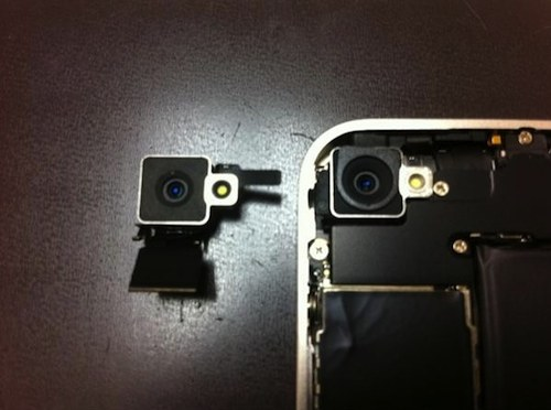 iphone 4 bianco disassembleto