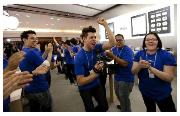 iPhone 5S: Apple blocca le ferie ai dipendenti a settembre
