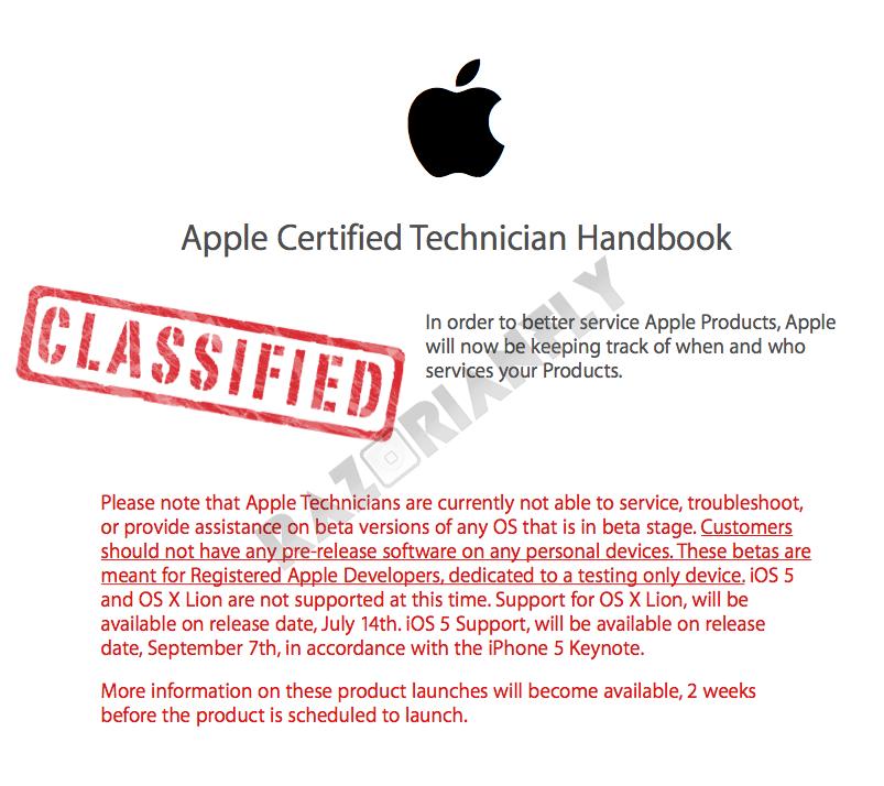 Apple Secret Revealed