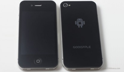fake android iPhone 4