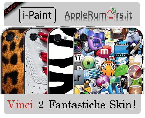 CONTEST: AppleRumors e i-Paint regalano due Skin per iPhone o iPad (VINCITORI)
