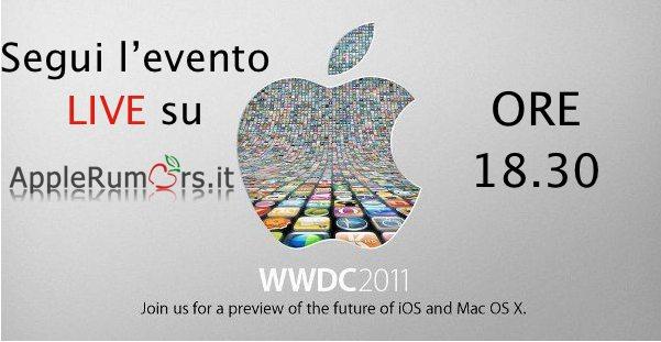 WWDC 2011: Live Blog dalle ore 18.30, seguite la presentazione di iOS 5, Mac Lion e iCloud