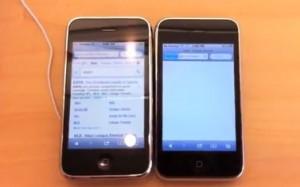 iPhone 3Gs iOS 4.3.3. vs iPhone 3Gs iOS 5