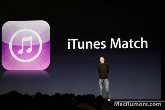 iTunes Match in UK, nulla fino al 2012