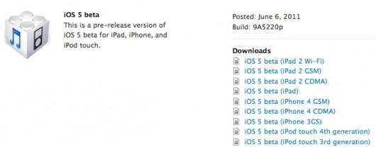 IOS 5 beta 1, tutte le novità (articolo in aggiornamento)