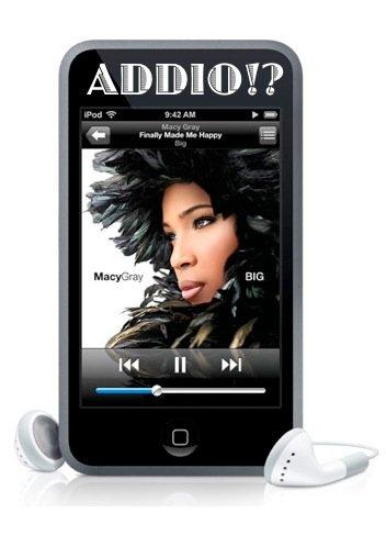 addio ipod touch